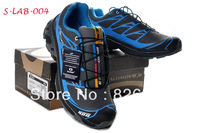 2013 New Arrival Salomon Hiking Shoes Men Brand Running Shoes High Quality Size 40-45 Outdoor Sports ShoesColor
