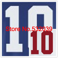 2012 New Brand Elite Stitched Blue & White #10 Eli Manning American NYG Football Jerseys, Accept Dropping Shipping.