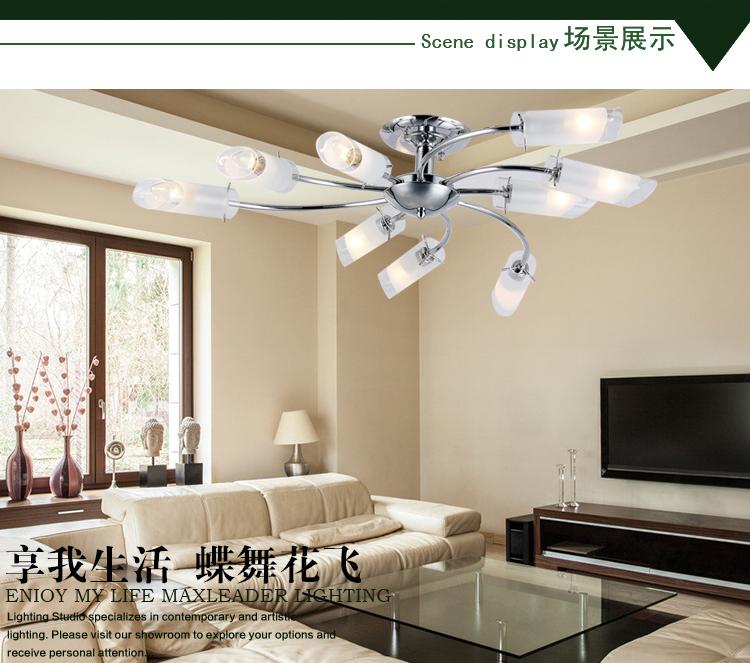 Fashion modern ceiling light bedroom lamps brief decorative lighting living room lights(China (Mainland))