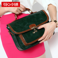 - 2013 summer vintage color block one shoulder handbag cross-body women's handbag bag - 10299