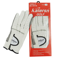 FREE SHIPPING Kaiersn golf gloves male suede slip-resistant breathable genuine leather Men single HOT