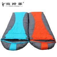 Adult fleece sleeping bag ultra-light sleeping bag lovers sleeping bag field outdoor products