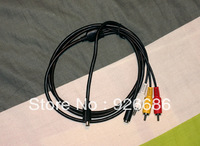 10-Pin D-Shaped LANC with Audio/Video  Adapter Cable for Sony Camcorders