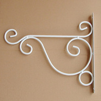 Tieyi diaolan basin flower pot hook iron hook rack iron hook wall hanging basket rack