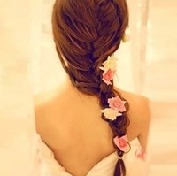 Free Shipping ILIKE BRAND 2013 vivi magazine floriation rose hair accessory bohemia hairpin rose hairpin JH1