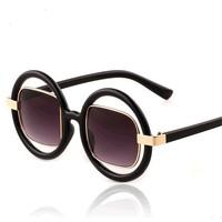 sunglasses women brand designer 2013 fashion male Women circle round sunglasses wholesale star sun glasses High quality. y367
