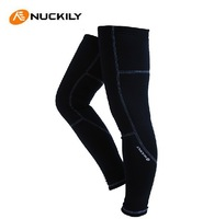 NUCKILY Cycling Thermal Leg Warmers,Cycling Kneepad Professional Riding/Racing/Cycling Leg warmer Cycling Equipment S-XXL