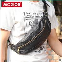Hot-selling mcgor 2013 dumplings chest pack,male men shoulder bag,messenger bags packets casual small waist pack man bag