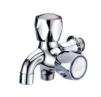 Multifunctional bibcock copper fittings bathroom washing machine net faucet j86104(China (Mainland))