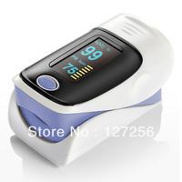 wholesale- FDA CE finger pulse oximeter SPO2 PR monitor OLED display GREEN PURPLE PINK BLUE COLOR  waveform  YK113 5 pcs/lot