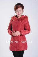 Free shipping 2013 autumn and winter women's cotton-padded jacket cotton-padded jacket wadded jacket