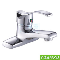 Copper basin hot and cold faucet basin faucet