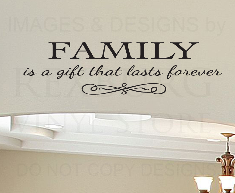Family Wall Quotes Decals  WallQuotescom