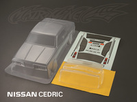 unpainted shell body clear body shell NISSAN CEDRIC    for 1:10 rc racing car    free shipping