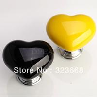 Childern Room Cartoon Handle Heart shape Ceramic Drawer knob for cupboard/shoes cabinet/closet