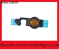 New Home Button Menu Flex Ribbon Cable Replacement For iPhone 5 Free Shipping