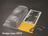 unpainted shell body clear body shell Dodge viper SRT8   for 1:10 rc racing car    free shipping