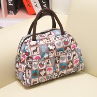 2013 Korea Free shipping New waterproof printing fashion casual lunch bag ladies handbag small bag,Luggage bag,Travel bag