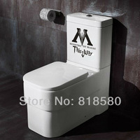 Free Shipping Home Decor Harry Potter Ministry of Magic Bathroom Vinyl Wall Art Stickers Wall Decals(21 x 20cm/piece)