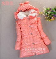 Free shipping 2014 new children's clothing children boys and girls down jacket Down jacket stylish and comfortable