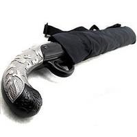 2013 Free Shipping Brand New Cool Short Gun Umbrella Novelty 2 Folding Auto Open Waterproof Gift Umbrella Drop Shipping