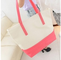 2014 autumn latest popular woman handbag cute candy color handbag  BG175