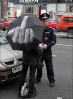 New arrival umbrella middle finger stylish male black umbrella birthday gift drop shopping umbrella free shipping