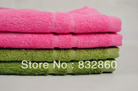 Free shipping 20pcs/lot  34*76cm towel, bamboo fiber towel ,home &garden