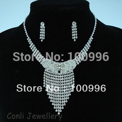 2014 New Top Fasion Romantic Women Rhinestone Wedding Animal Free Shipping,min Order $15 Mix Wedding/bridal Jewelry Set #l3393(China (Mainland))