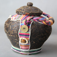 Freeshipping Yunnan Pu'er tea gift tea wholesale ethnic craft tea  tea pot craft