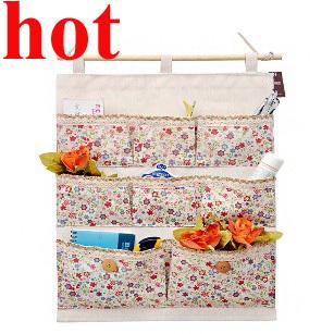 Cheap waterproof membrane canvas multi-layer Pocket Hanging Bag Door Holder Shoe Storage bag Closet Hanger Organiser