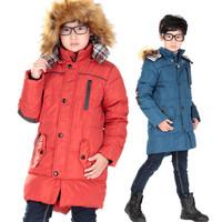 Child down coat children's clothing male child down coat child winter coat 8628