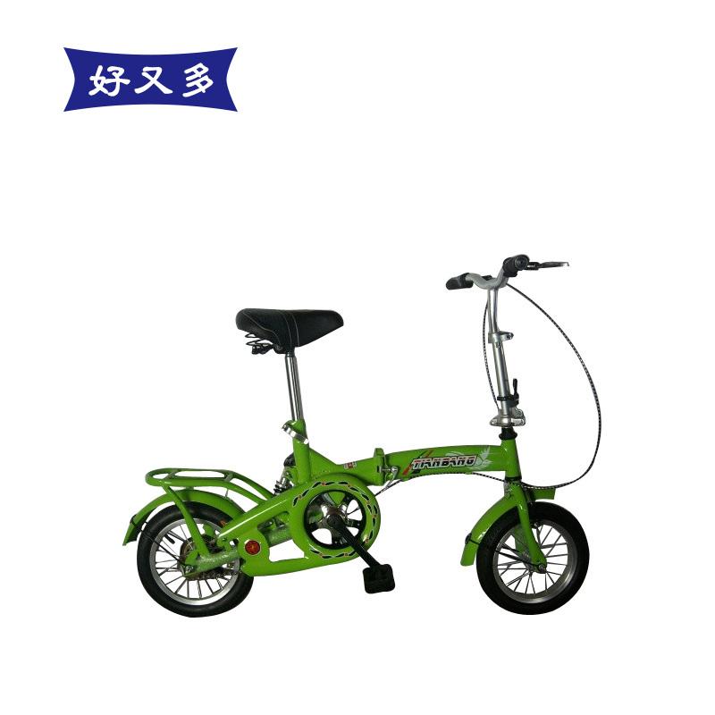 12 kids bike stroller dual-use adult folding bike bicycle finished product(China (Mainland))