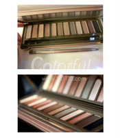 new 2014 nake palette makeup Nk2 Brand 12 colors eye shadow maquiagem makeup necessary makeup eye shadow mix palette
