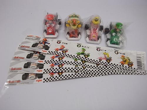 Game doll WARRIOR car japan mario 4 full set 1(China (Mainland))