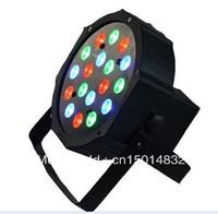 18*3W RGB Cheap LED Flat Par 64