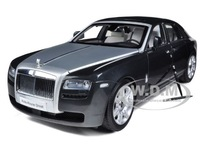 Brand New Kyosho 1:18 Scale Rolls Royce Ghost SWB LHD Tungsten Diecast Car Model In Stock
