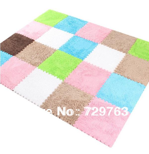 Single Sided Foam Crawling Mats Baby Play Mat Carpet Child ...