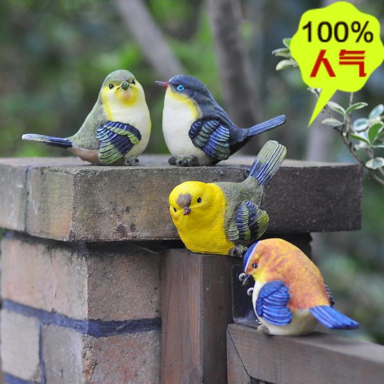 Achetez en gros small artificial birds en ligne des for Oiseaux artificiels de decoration
