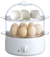 Double layer multifunctional egg boiler electric steamer 202 2l capacity