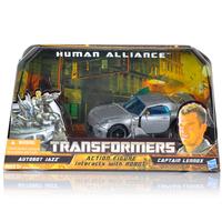 Robot Human Alliance Rare Set Autobot Jazz Captain Lennox MISB Unopened