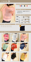 W009 free shipping 2013 summer autumn women new fashion cutout knitted pullovers ladies batwing thin sweater shirts plus size