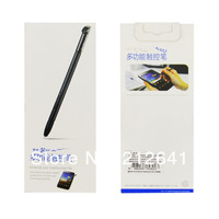 Free Shipping High Quality Capacitive  Stylus Touch S Pen For Samsung GALAXY Note N7000 I9220 With Retail Package
