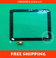 free shipping U23 u9gt3 capacitance screen touch screen 080083-01a-v1
