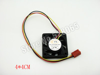 2Pcs New Case Fan 12V PC CPU Computer Cooling Sleeve Bearing 3 pin 40 x 40 x 10 mm