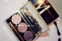 M . cuicanduomu r bling diamond eye shadow earth color champagne color sparkling