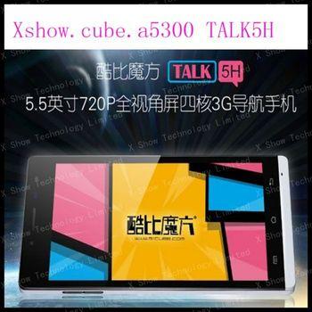 Cube A5300 MTK6589 Quad Core 3G mobile phone 5.5'' HD Capacitive Dual Camera Dual SIM Android 4.2 Bluetooth GPS FM 1GB/4GB