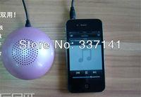 Free Shipping 2013 Brand New Small mushroom bluetooth speaker mini wireless audio mobile phone bluetooth speaker