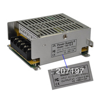 12V 2.5A / 5V 2A Power Supply Transformer for LED / Surveillance Camera and more (AC 110~220V)