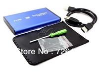 Free Shipping USB 2 stat  2.5inch SATA Hard Disk Drive HDD Caddy Orico Exteranl Storage Drive-bag